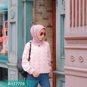 Quisha jaket Perempuan/ Harga Terjangkau/ High Quality/ Baru