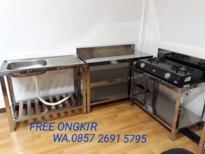 Top Set Kitchen Sink Meja Dapur