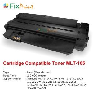 Compatible Cartridge MLT-105 MLT-D105L MLT-D105S MLT-D1052L MLT-D1052S