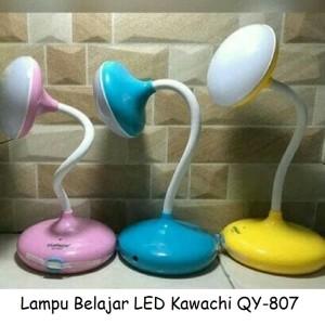 Lampu Meja Belajar / Desk Lamp LED Fleksibel Kawachi QY-807 Recharge