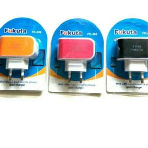 Charger Handphone 3 Port / Cas HP 3 USB 3.1 A Fukuta FK-389