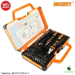 Obeng Set Reparasi Lengkap Multibit Screwdriver Hand Tools Box 69 in 1