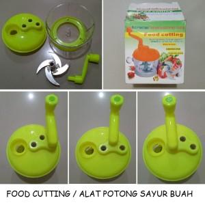 Food Cutting / Alat Potong Sayur dan Buah 4 Pisau Multifungsi