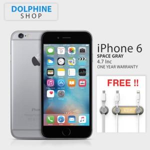 iphone 1 6. APPLE IPHONE 6 GRAY 64GB GSM GARANSI 1 TAHUN Iphone