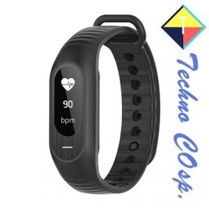 SKMEI Jam Tangan LED Gelang Fitness Tracker B15 Monitor Kesehatan - Hitam