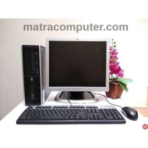 "Komputer HP Pentium G 2020 6200 SFF  - LCD 17"" square - keyboard mouse"