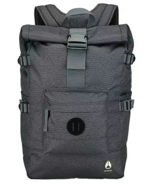 All Black Fall 2017 NIXON Canyon Backpack