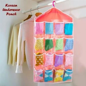 Korean underwear aksesoris pouch gantung pouch serbaguna simple .