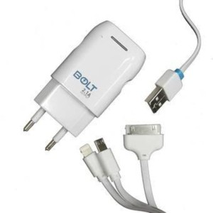 Bolt 3in1 Charger Android, Iphone, Samsung Tab