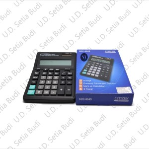 Kalkulator Citizen SDC-664S Asli dan Bergaransi