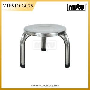 Bangku Jongkok Bundar Stainless Steel - MTPSTO-GD25