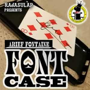 Font Case by Arief Fontaine