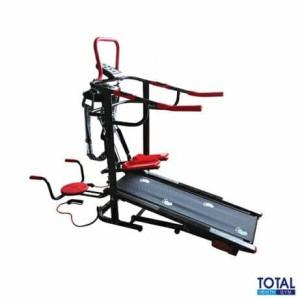 Treadmill manual tl-004 6 fungsi total fitness