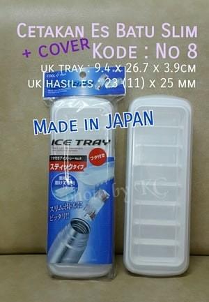 [JAPAN] Cetakan Es Batu Ice Cube + ice tray dengan penutup