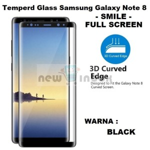 TEMPERED GLASS SAMSUNG GALAXY NOTE 8 FULL COVER - FULL SCREEN