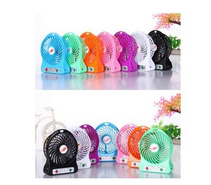 PROMO Kipas Angin Mini Portable Power Bank / Mini Fan USB