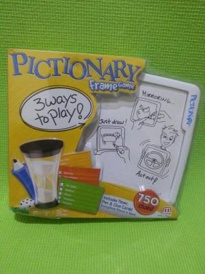 Jual Pictionary Frame Game by Mattel Games - Plamo & Diecast | Tokopedia