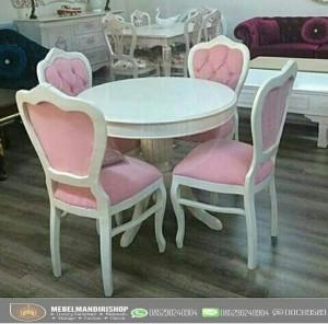 Kursi Sofa Makan Shabby/Kursi Sofa Makan Duci