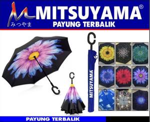 Payung Terbalik / Payung Gagang C + Sarung Mitsuyama MS-4100