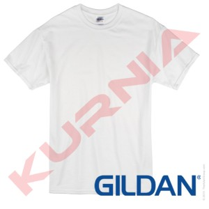 Kaos Polos GILDAN Putih SoftStyle 63000 Original Murah