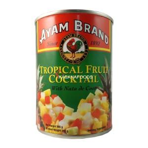 Koktil Buah Buahan Kalengan Ayam Brand Fruit Cocktail 565g