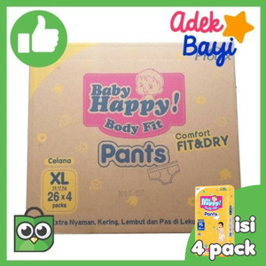 [KARTON] BABY HAPPY BODY FIT PANTS (XL .