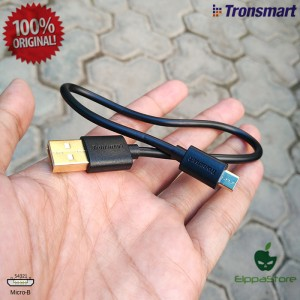 GOLD Plated Cable Data/Kabel Charger Micro USB Pendek 30 CM Tronsmart