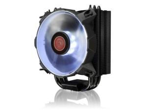 Heatsink Raijintek Leto White-120mm slim-type CPUcooler-Black Coated-A