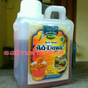 madu klengkeng Ad Dawa 500 gram, khusus jawa