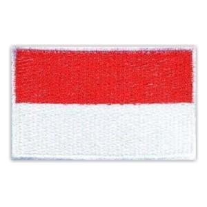 Bordir Bendera Merah Putih Untuk Atribut Seragam Sekolah