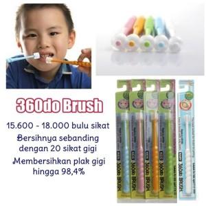 360 Do Brush For Baby PUTIH Sikat Gigi Bayi Japan 360 d Murah