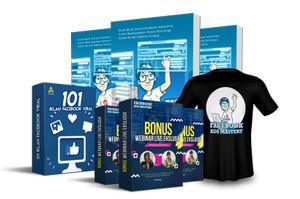 Paket Premium - Buku Facebook Ads Mastery Free Kaos