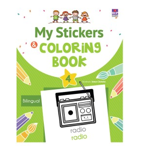 MY STICKERS AND COLORING BOOK 4