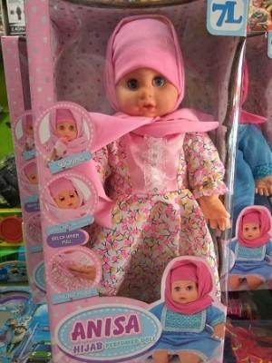Boneka Anisa Hijab Perfumed Doll Smart