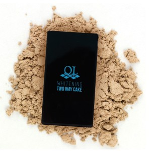 Ql Cosmetic Two Way Cake 03 Tropical Beige - 15 gr