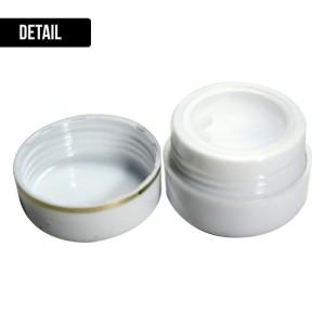Pot Cream 12.5 gr putih - wadah kosmetik - pot cream HN - POT KRIM