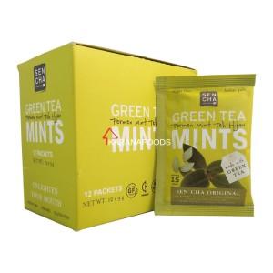 Sencha Green Tea Mints Original 9g Box