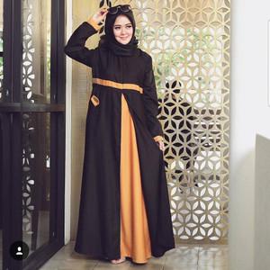 Busana Gamis Wanita/Saidah Dress Muslim Terjamin/Fashionable/Imut