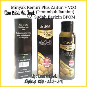 jual minyak penumbuh rambut kemiri plus zaitun, vco original bpom Minyak Kemiri 100 Persen Asli