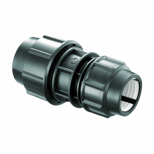 """FITTNG HDPE REDUCER COUPLER 1-1/2""""X1"""" ATAU 50 MMX 32 MM"""