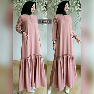 Gamis Perempuan - Shafana Dress Muslim - Tidak Kusut - Menarik