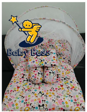 kasur lipat kelambu baby bess tsum2