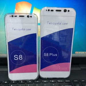 Softcase 360 Bening Samsung S8+/S8 Plus Full Casing Body Silikon Case