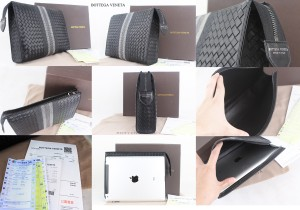 HAND BAG BOTTEGA VENETA IPAD SIZE MIRROR PREMIUM WITH BOX INVOICE