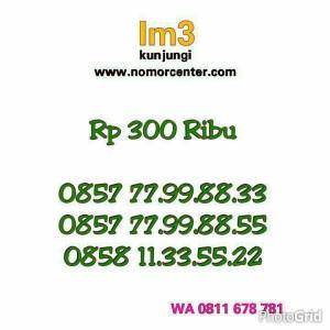 Nomor Cantik Indosat IM3 Kuwartet AA (0858.1133.5522) Hoki YM12@1147