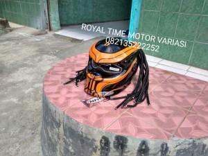 Predator Helmet Black Oranger