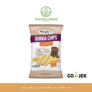 Simply7 - Quinoa Chips Cheddar ( 23 gr )