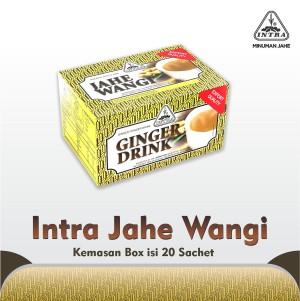 Intra Jahe Wangi (Kemasan box isi 20 sachet)