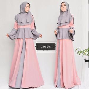 Gamis Terbaru/ Setelan Zara/ Baju Muslim Hits/ Terlaris