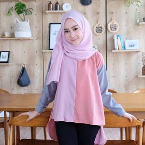 Aisyah Tuni Cewe/Baju Atasan Modis/Sederhana/Imut